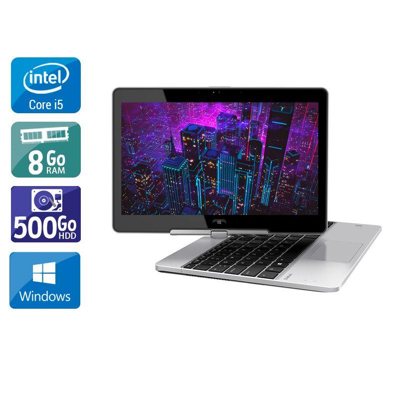 HP Elitebook Revolve 810 G3 i5 8Go RAM 500Go HDD Windows 10
