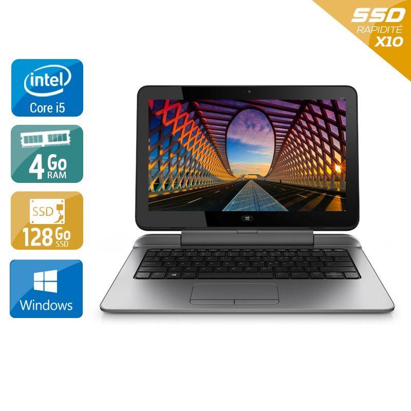 HP Pro X2 612 G1 Tablet i5 4Go RAM 128Go SSD Windows 10
