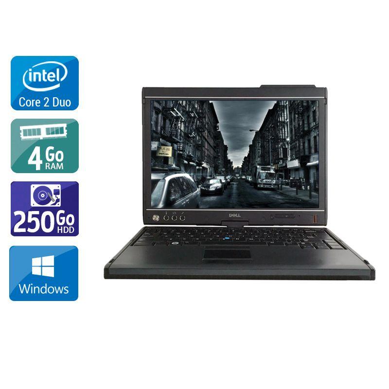 Dell Latitude XT2 Core 2 Duo 4Go RAM 250Go HDD Windows 10