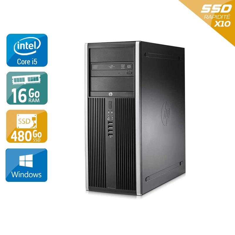HP Compaq Elite 8100 Tower i5 16Go RAM 480Go SSD Windows 10