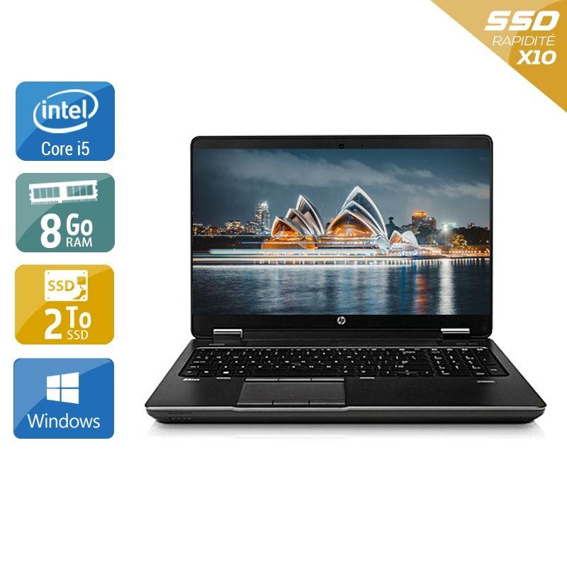 HP ZBook 15 G1 i5 8Go RAM 2To SSD Windows 10