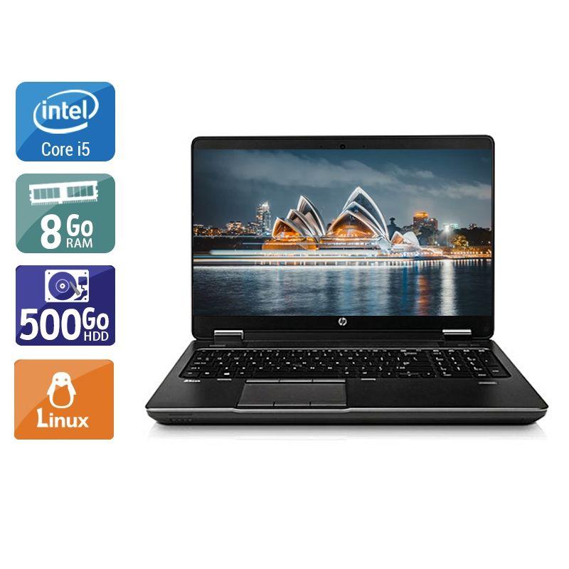 HP ZBook 15 G1 i5 8Go RAM 500Go HDD Linux