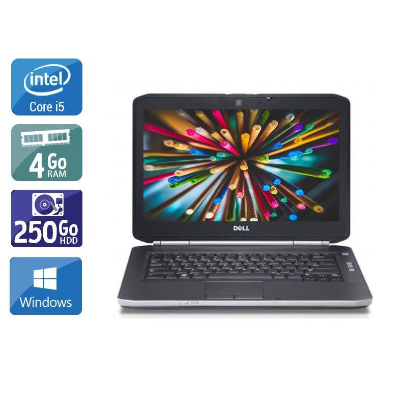 Dell Latitude E5420 i5 4Go RAM 250Go HDD Windows 10