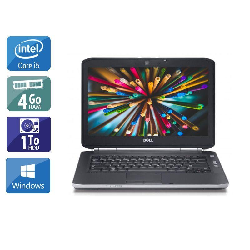 Dell Latitude E5420 i5 4Go RAM 1To HDD Windows 10