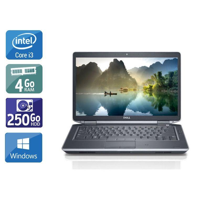 Dell Latitude E5430 i3 4Go RAM 250Go HDD Windows 10
