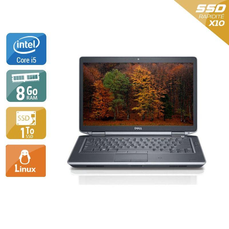 Dell Latitude E5430 i5 8Go RAM 1To SSD Linux