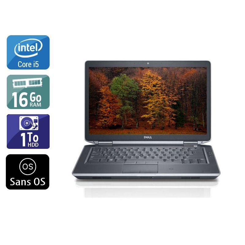 Dell Latitude E5430 i5 16Go RAM 1To HDD Sans OS