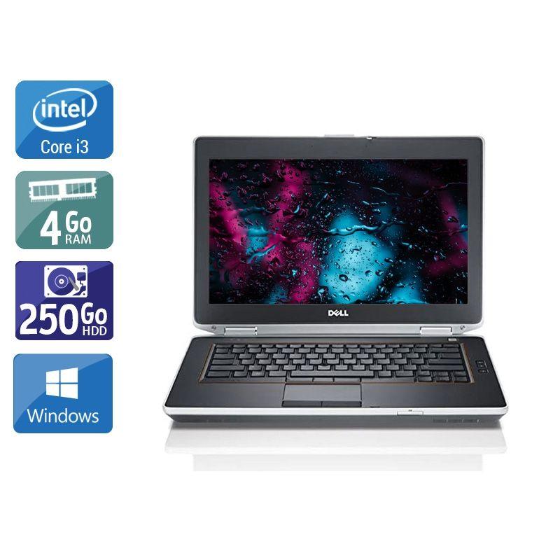 Dell Latitude E6420 i3 4Go RAM 250Go HDD Windows 10