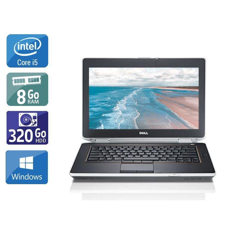 Dell Latitude E6420 i5 8Go RAM 320Go HDD Windows 10