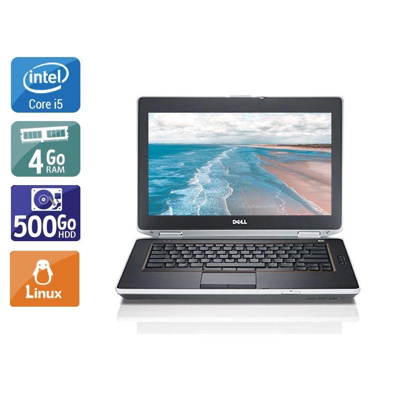 Dell Latitude E6420 i5 4Go RAM 500Go HDD Linux