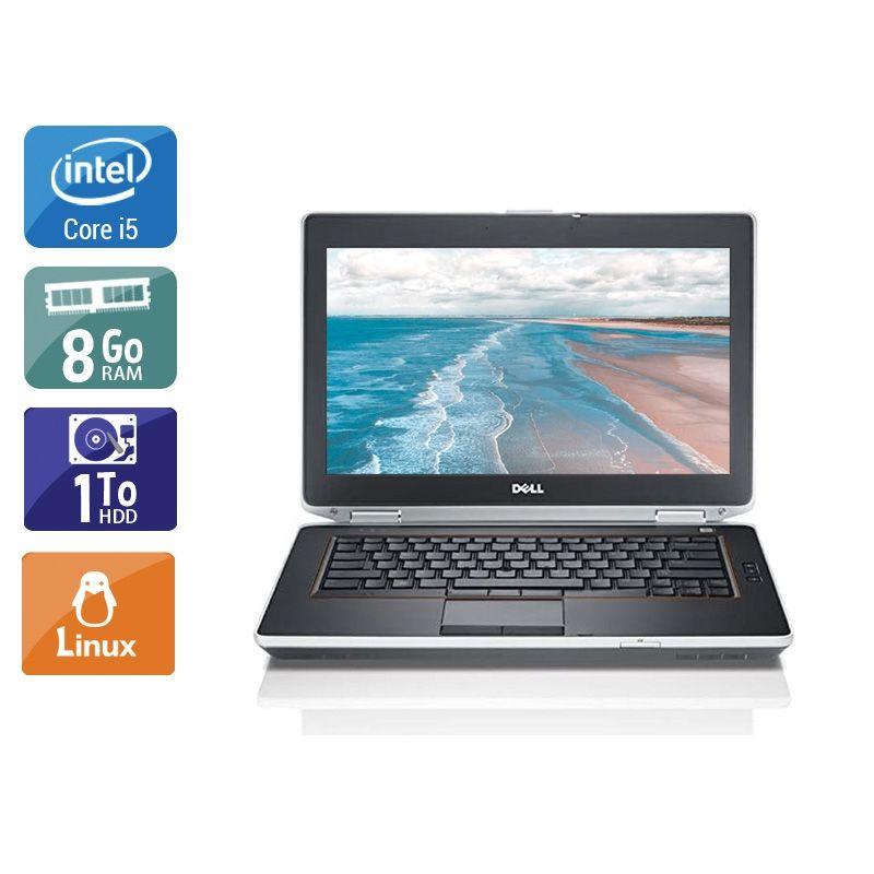 Dell Latitude E6420 i5 8Go RAM 1To HDD Linux