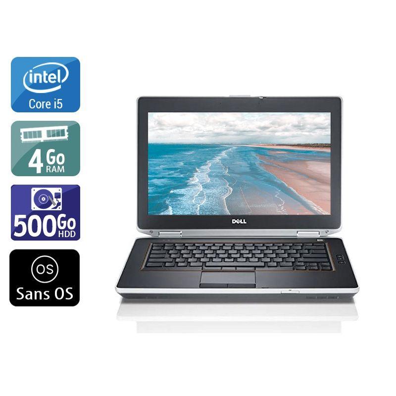 Dell Latitude E6420 i5 4Go RAM 500Go HDD Sans OS