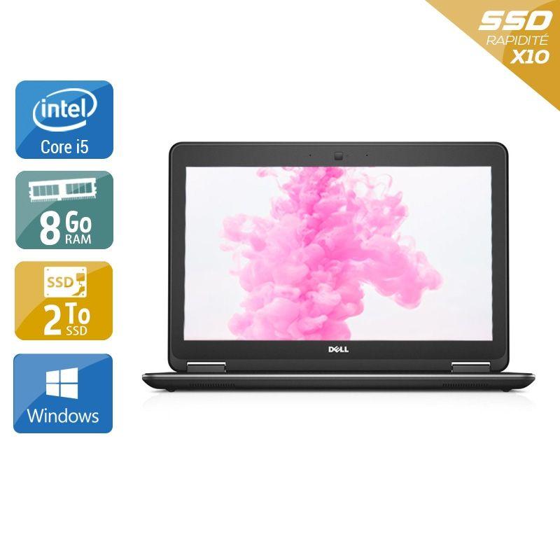 Dell Latitude E7240 i5 8Go RAM 2To SSD Windows 10